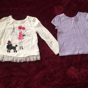 Bundle of two Children's Place shirts